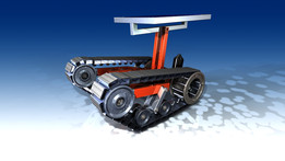 mine sweeper robot