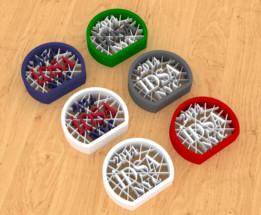 3D Printed Pin for IDSA