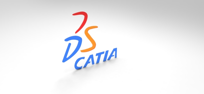 Catia logo 3d cad model library grabcad sciox Gallery
