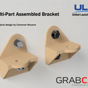 Multi-Part Assembled Bracket