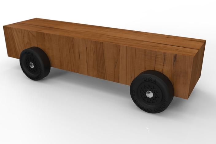 Pinewood Derby Car Kit - SOLIDWORKS - 3D CAD model - GrabCAD