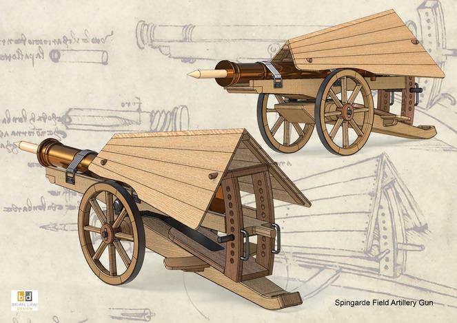 Leonardo Da Vinci Gun Inventions