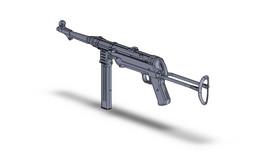 Maschinenpistole 40, MP 40