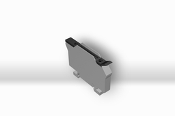 "FUSE BLOCK,1/4""x 1 1/4"" : DIN RAIL MOUNT"