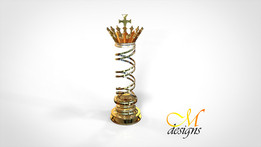 THE KING ♔ (chess piece)