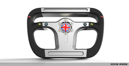 Bloodhound Steering Wheel