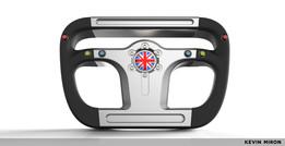 Bloodhound Steering Wheel
