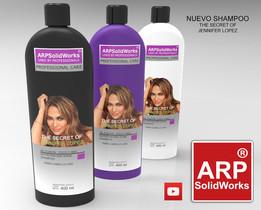 Shampoo bottle 400ml