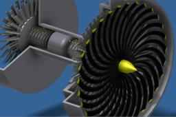 Jet Engine Display