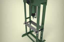 HYDRAULIC PRESS 10 TON / PRENSA HIDRÁULICA 10 TON