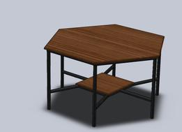 Mesa hexagonal / hexagonal table
