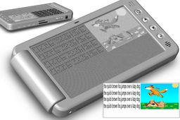 Computer Tablet for the Blind with a 'Feel-screen'
