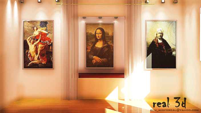 mona lisa gallery