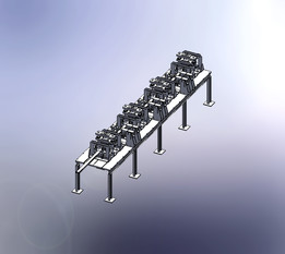Special Purpose Machine For Piercing & Embossing on various Cold Rolled Formed Sections (Open Type)