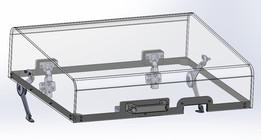 Plexiglass hood