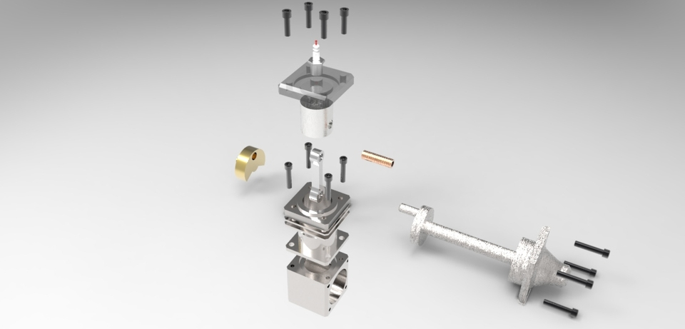 2 stroke rc engine   3D CAD Model Library   GrabCAD