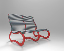 LOUNGE CHAIR METAL