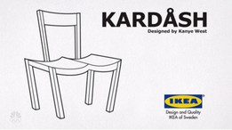 Kim Kardashian Signature Chair (approved by Kenye West)  :)