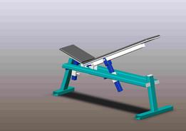 Bench press incline (Лавка для жима наклонная)