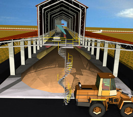 11-Pozzolana, Gypsum & Additive Storage