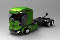 Concept Car Truck SNVI K-120x ex SONACOME