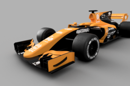 OpenRC F1 Dual Color McLaren Edition