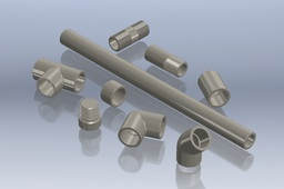 "1/2"" Polypropylene Fittings"