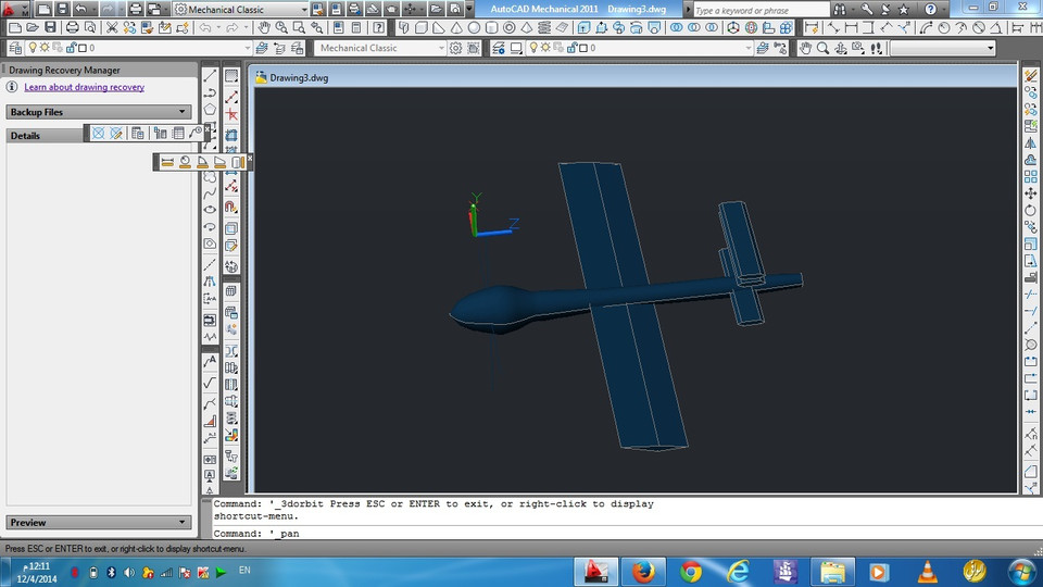 it is looks like drone | 3D CAD Model Library | GrabCAD