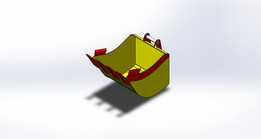 0105-000_Bucket_(Bucker for excavator EO-2621/ BELARUS)