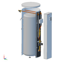 Two-condition storage water heater