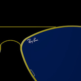 Ray. Ban Glasses by Autocad(with small dimension)