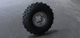 ATV Front Wheel