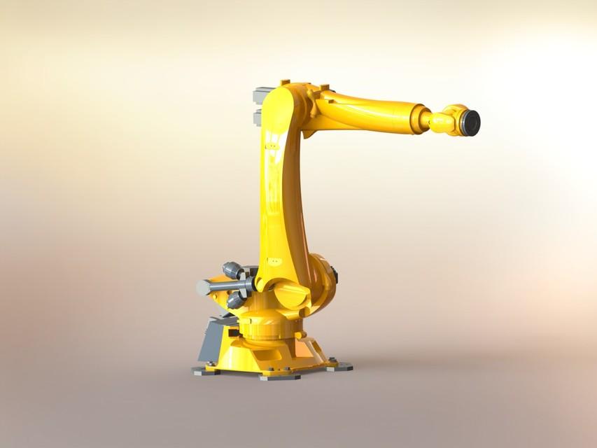 Kuka robot | 3D CAD Model Library | GrabCAD