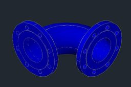 Ductile Iron 90 Degree bend DN100