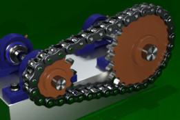 Chain & Sprocket Animation