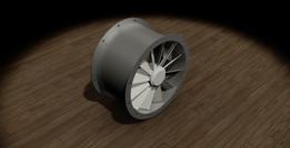 Direct axial fan