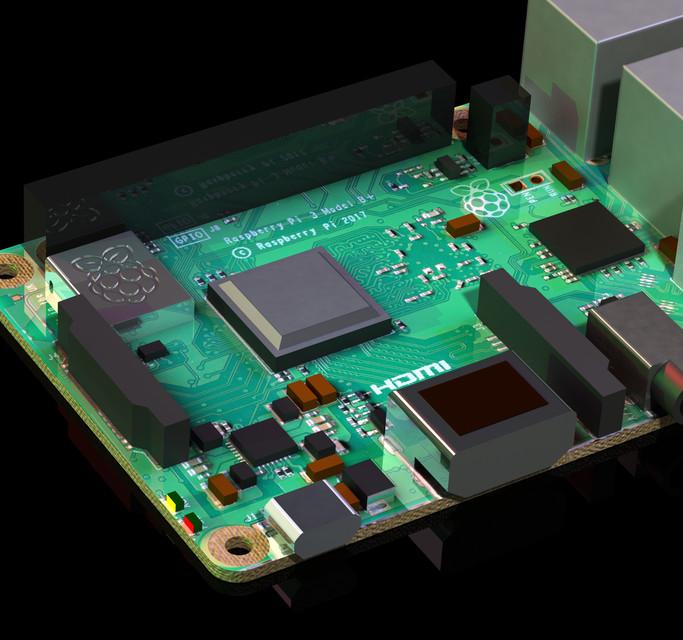 Raspberry Pi 3 Model B+ | 3D CAD Model Library | GrabCAD