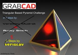 Triangular Based Pyramid (challenge)