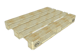 Standard Euro EPAL 80x120 wooded pallet