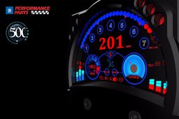 500 Group Supercar 3D Dash