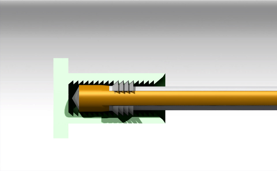 Nut And Bolt Quick Release 3d Cad Model Library Grabcad