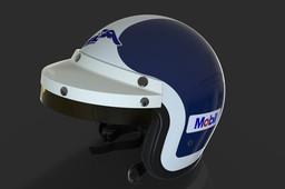 F1 Bob Bondurant 1966 Open-Face Helmet (Bell)