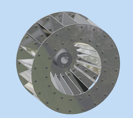 Blower Impeller for Package Burner