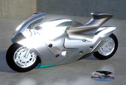 Motorcycle Suzuki Nuda