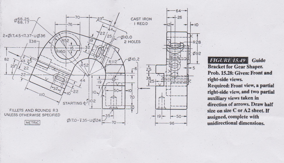 GUIDE BRACKET FOR GEAR SHAPER | 3D CAD Model