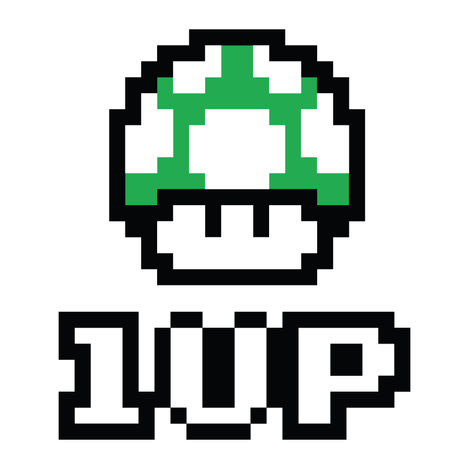 1 Up Mushroom From Super Mario Brothers Other 3d Cad