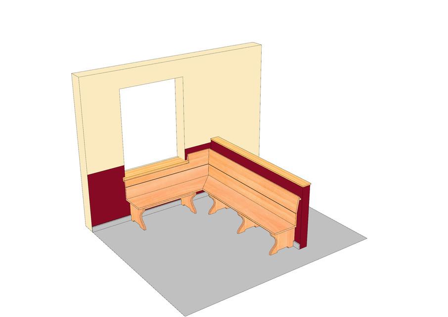 Eckbank stl rhino autocad sketchup 3d cad model grabcad for Stl file sketchup