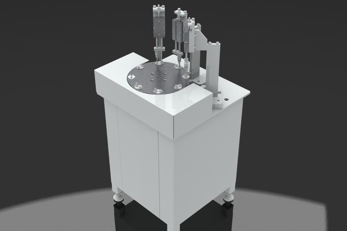 Simple Rotary Table Machine Keycreator Step Iges