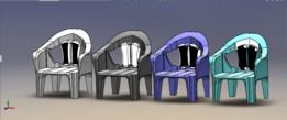 chair (plastic) toyo design
