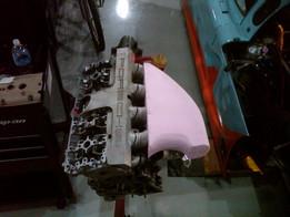 Porsche 968 sheet metal intake manifold